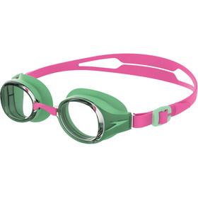 speedo Hydropure Occhiali Maschera Bambino, rosa/verde